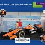 Ook Formule 1 wagens verzekeren wij!